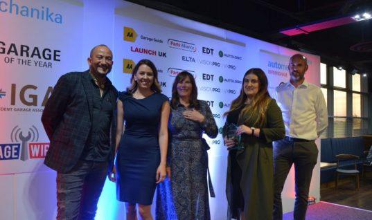 TechMan helps Northampton garage scoop award double