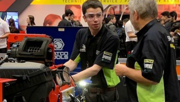 Autologic supports competitors at 2018 IMI Careers Skill Auto competition