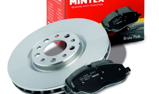 New to range Toyota C-HR and Ford Fiesta VII pads available from Mintex