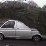 Van caught hauling massive Christmas tree on Somerset road