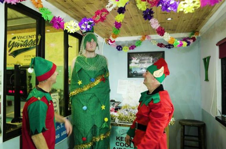 Independent garage gets into festive spirit with launch of its very own Christmas advert