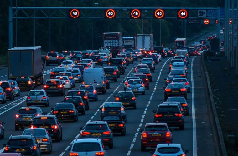 UK motorists travelled record number of miles in 2017