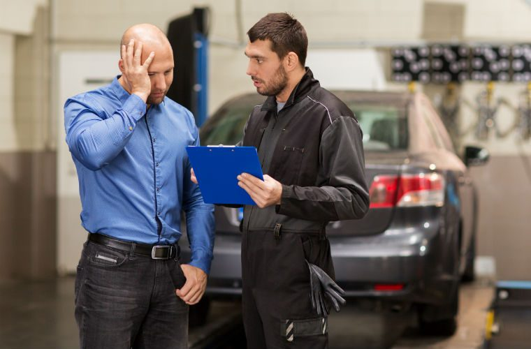 Average MOT repair bill is over £325, new research suggests