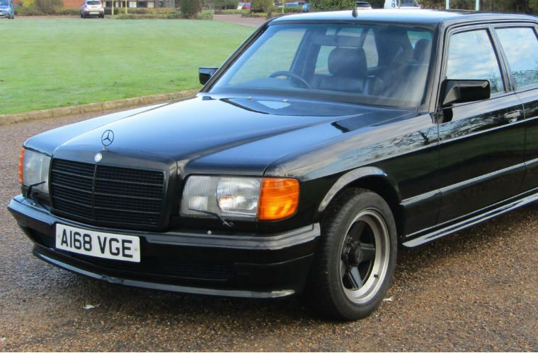 George Harrison's Mercedes 500 SEL AMG goes up for auction