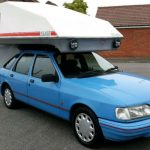 "Bizarre ""three berth"" Ford Sierra campervan goes up for sale"