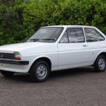 Unregistered 1978 Ford Fiesta with just 140 miles on the clock to be sold at auction