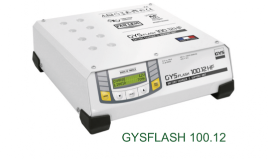 GYS Flash 100 amp high power battery support unit available from Hickleys