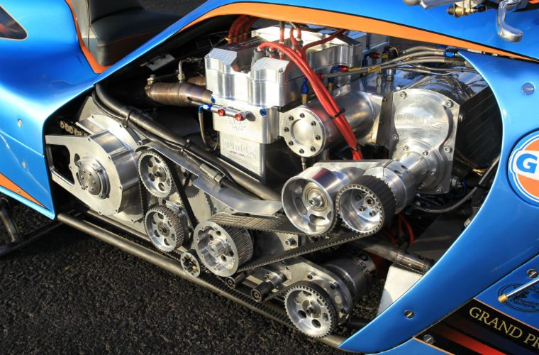Gates Belts Drive Top Fuel Bike in MFC World Finals