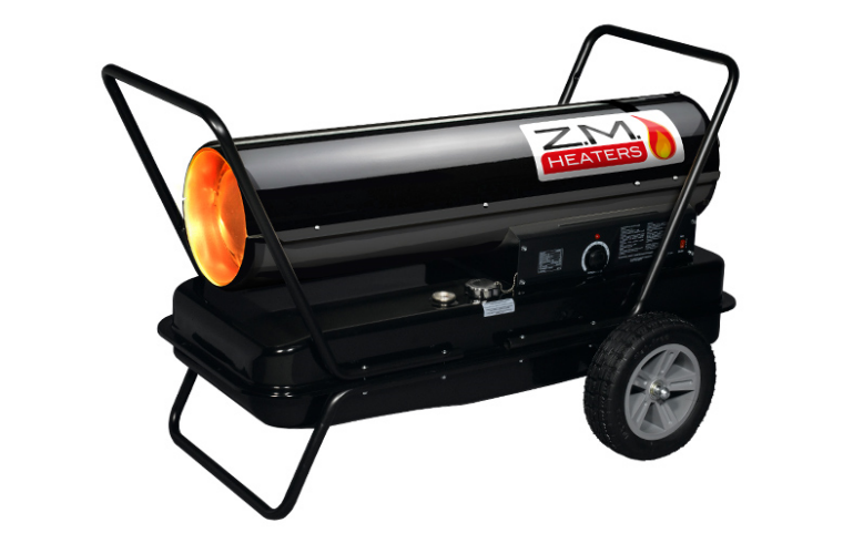 ZM-K125 super quiet portable paraffin diesel space heater at The Parts Alliance