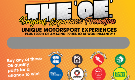 The Parts Alliance 'Original Experience' promo offers chance to win top prizes
