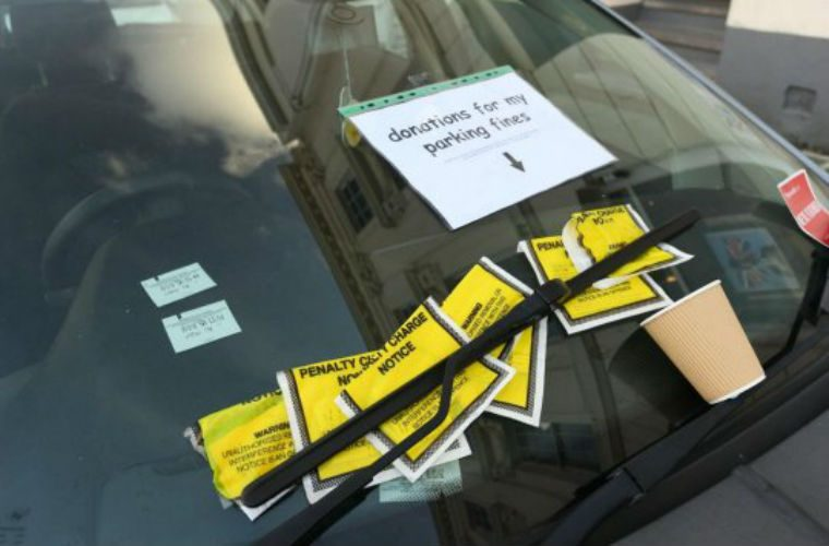 Driver who lost keys at Christmas asks for donations to help pay parking fines