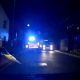 Dashcam captures moment police van door falls off