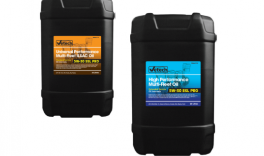 Vetech multi-fleet oil exclusively available from The Parts Alliance