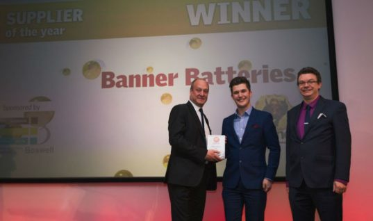 Banner Batteries named Supplier of the Year