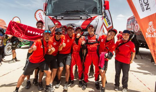 DENSO-sponsored teams look back on iconic Dakar Rally success