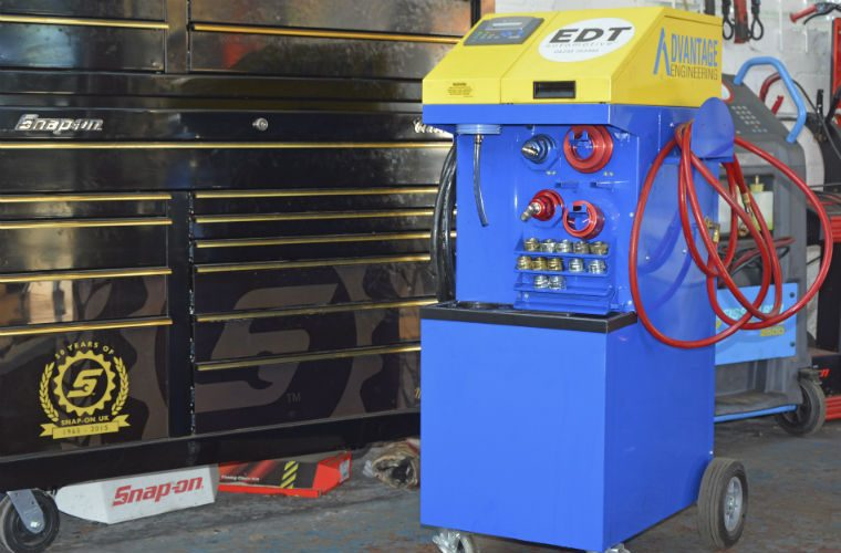 Garages in Harrogate eligible to save £1,100 on EDT's engine decontamination machine