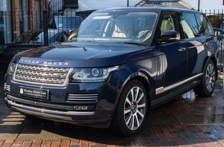 Prince Philip's Range Rover Autobiography advertised for sale