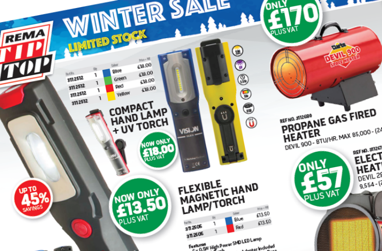 Limited stock left in REMA TIP TOP winter sale