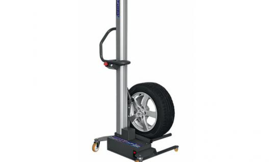 Sykes-Pickavant highlights benefits of its battery powered wheel lifter
