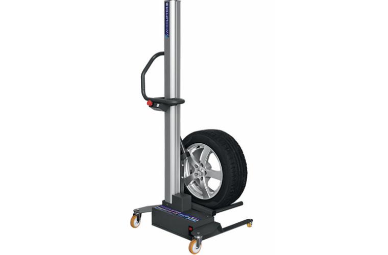 Sykes-Pickavant highlights benefits of its battery powered wheel lifter