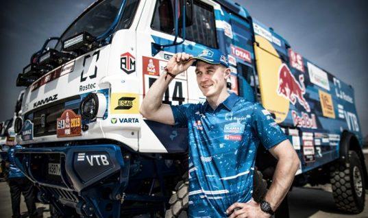 Historic win for VARTA-sponsored KAMAZ truck team at Rally Dakar