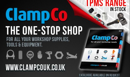 Free next-day delivery on workshop supplies from ClampCo