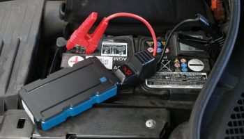 Compact multi-function jump start power pack from Laser Tools