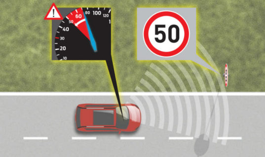 Speed limiting tech to become mandatory for vehicles sold in Europe from 2022