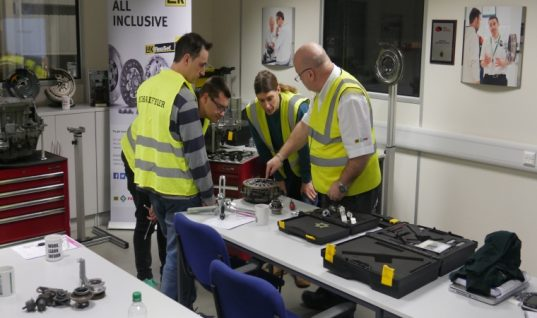 REPXPERT members recommend LuK double clutch system training course