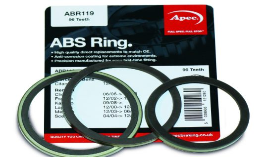 Apec Braking adds magnetic ABS rings to range