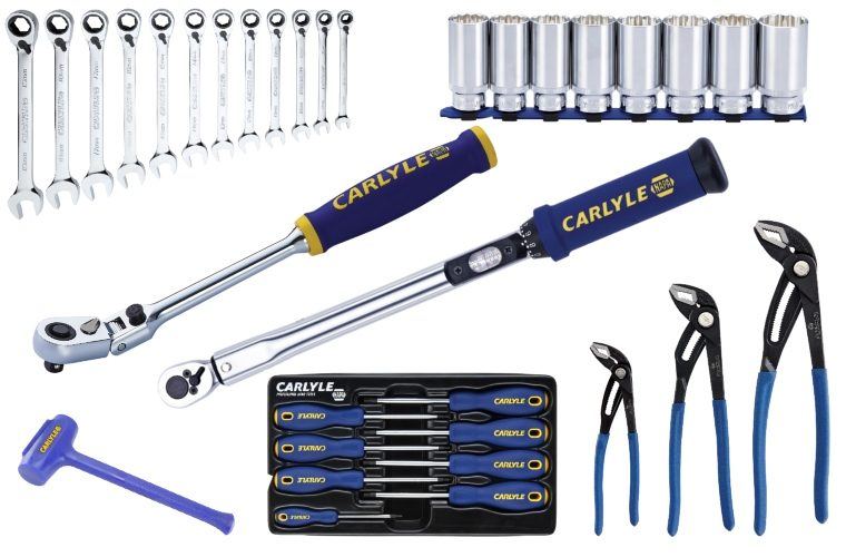 Review all this kit from Carlyle Tools and feature on GWTV