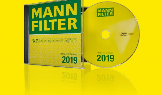 New MANN-FILTER catalog DVD now available