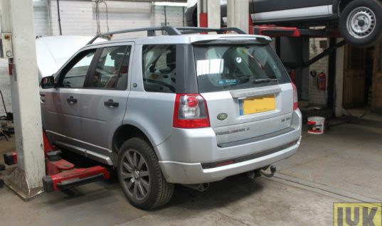 Land Rover Freelander 2 clutch replacement step-by-step guide