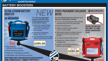 Exclusive Sykes-Pickavant battery booster promotion