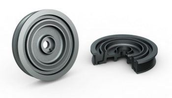 Torsional vibration damper installation and removal guide