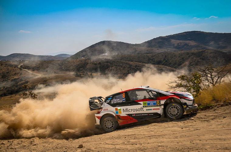 DENSO-supported TOYOTA GAZOO Racing leads World Rally Championship