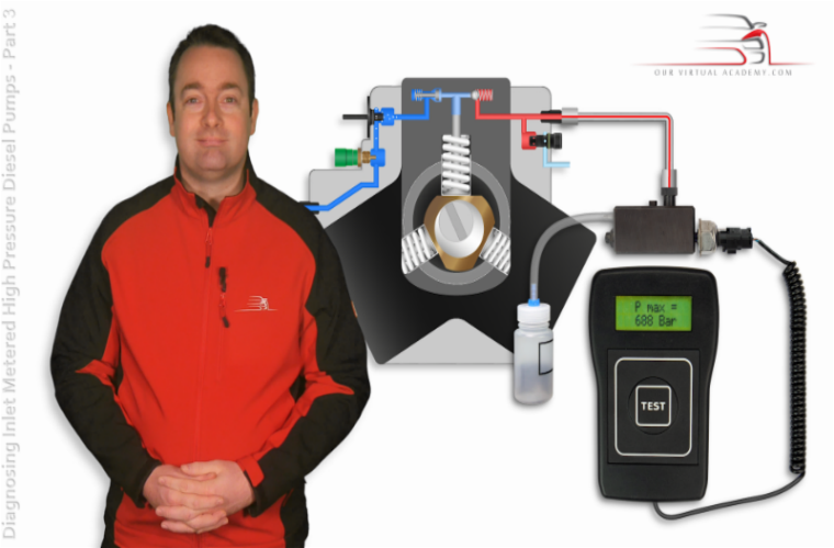 Final section of diesel diagnostics course added to Our Virtual Academy