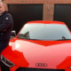 Audi R8 owner finds hidden graffiti following dispute with dealership over repairs