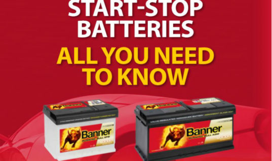 Avoid fitting the wrong battery with this quick reference guide for start-stop vehicles