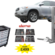 Free tool cabinet and tools when your order Dama mobile single post lift at Hickleys