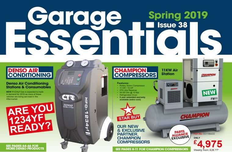 Spring Garage Essentials packed with all new bargains