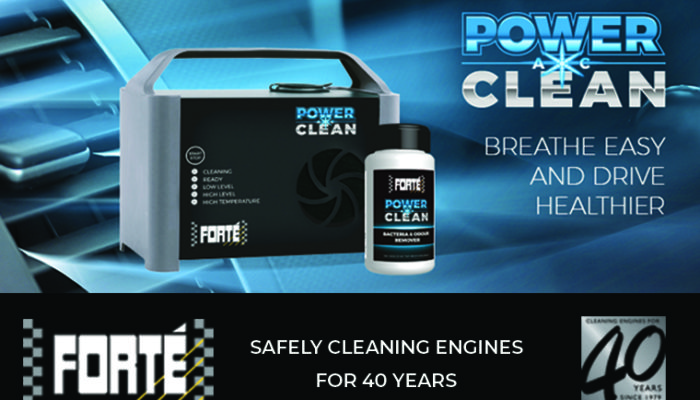 Watch: Forté reveals air con cleaning tech that doesn't require parts removal