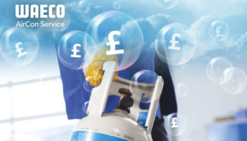 Get a £500 trade-in bonus when you buy WAECO low emission A/C service unit