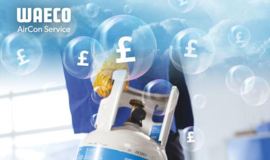 Get a £500 trade-in bonus when you buy WAECO low emission A/C service unit