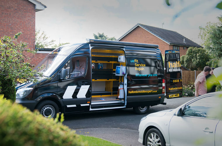 """Halfords expands """"Mobile Expert"""" service with plans to add 150 vans to fleet"""