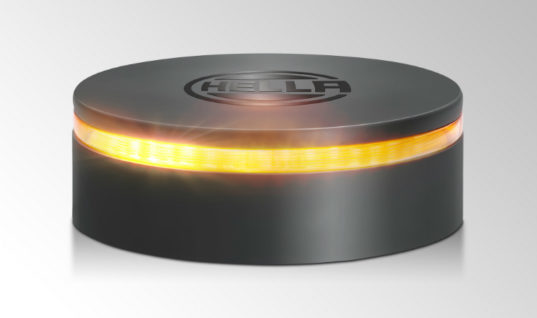 "HELLA to showcase ""safer"" LED beacon warning light at Automechanika Birmingham"