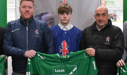 Lucas brand World Championship sponsors of GB ice hockey team