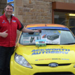 Ackworth Garage celebrate Ring competition win