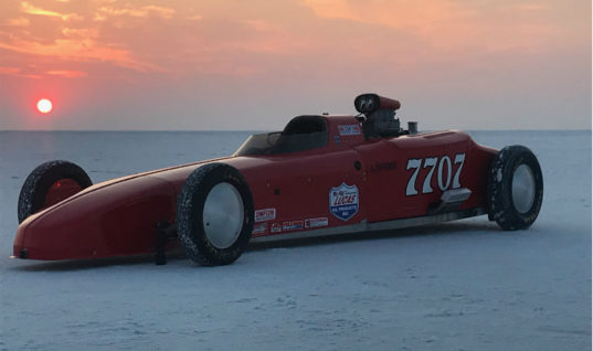 Lucas Oils-sponsored dragster aiming to set new land speed record