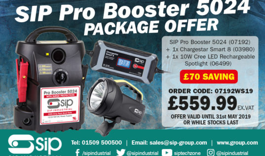 Savings on battery charging equipment from SIP